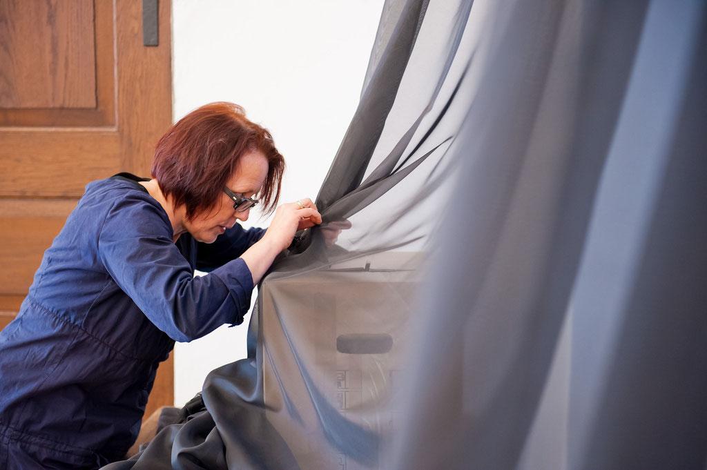 Ursula Neugebauer, Installationen, 10.4._15.5. 2011, Schloss Detmold