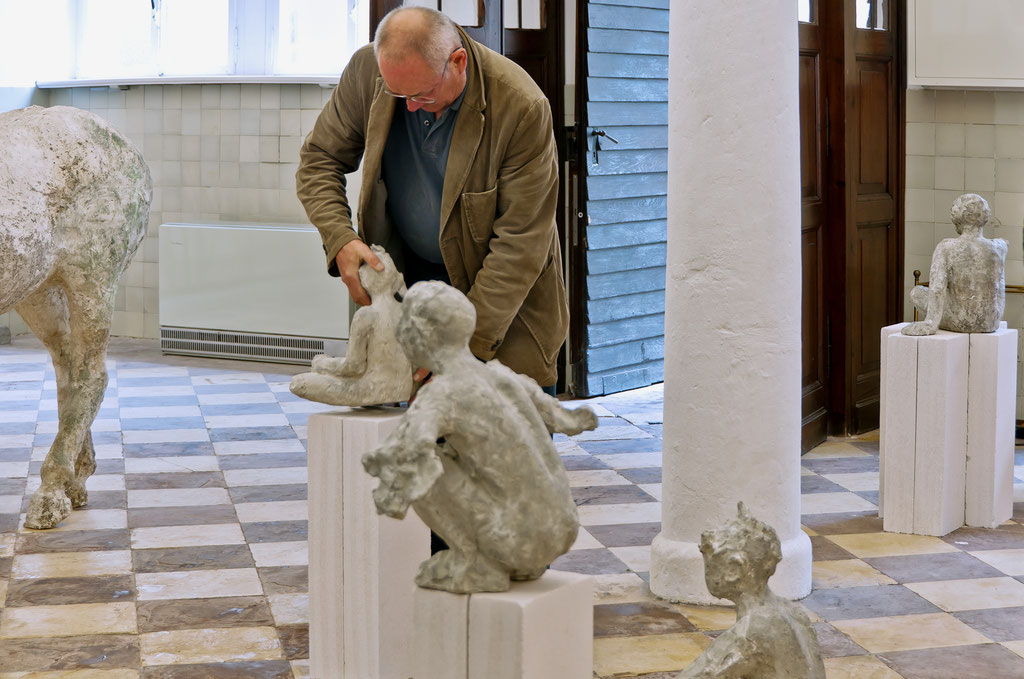 Johannes Brus, Skulpturen, 18.5._15.6. 2008, Schloss Detmold