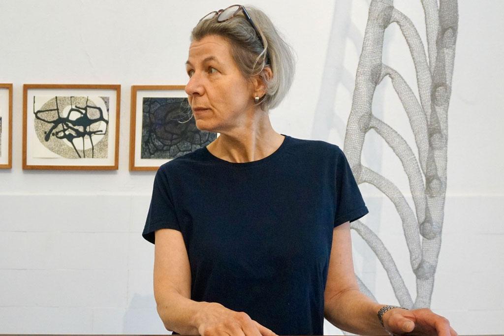 Luise Unger, Skulpturen | Zeichnungen, 21.5._18.6. 2017, Schloss Detmold