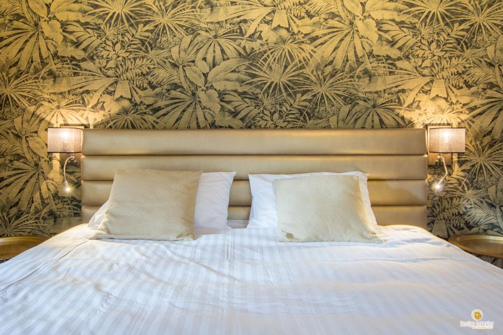 Décoration chambres d'hôtel à Celles Houyet - Décoratrice d'intérieur Catherine Colot - Desing Interior - UFDI - 5580 Rochefort