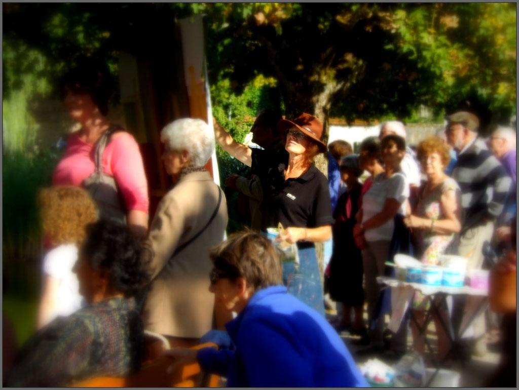 1-Les Dames du Lac_Le public_Micheline Reboulleau-Artiste Peintre_photo Zed Terra