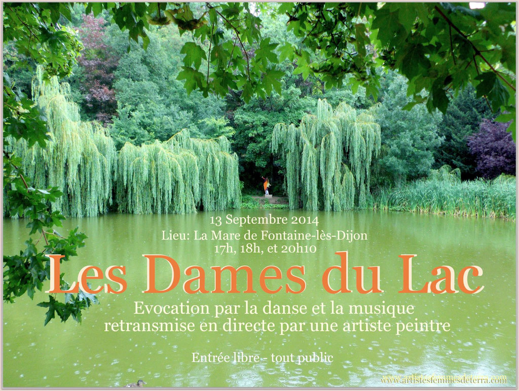 01-Les Dames du Lac-affiche_Drachin_photo Zed Terra 2014
