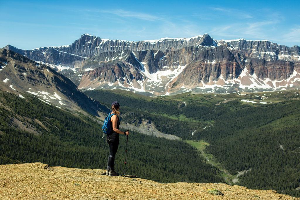 Bald Hills. Best hikes in Jasper NP