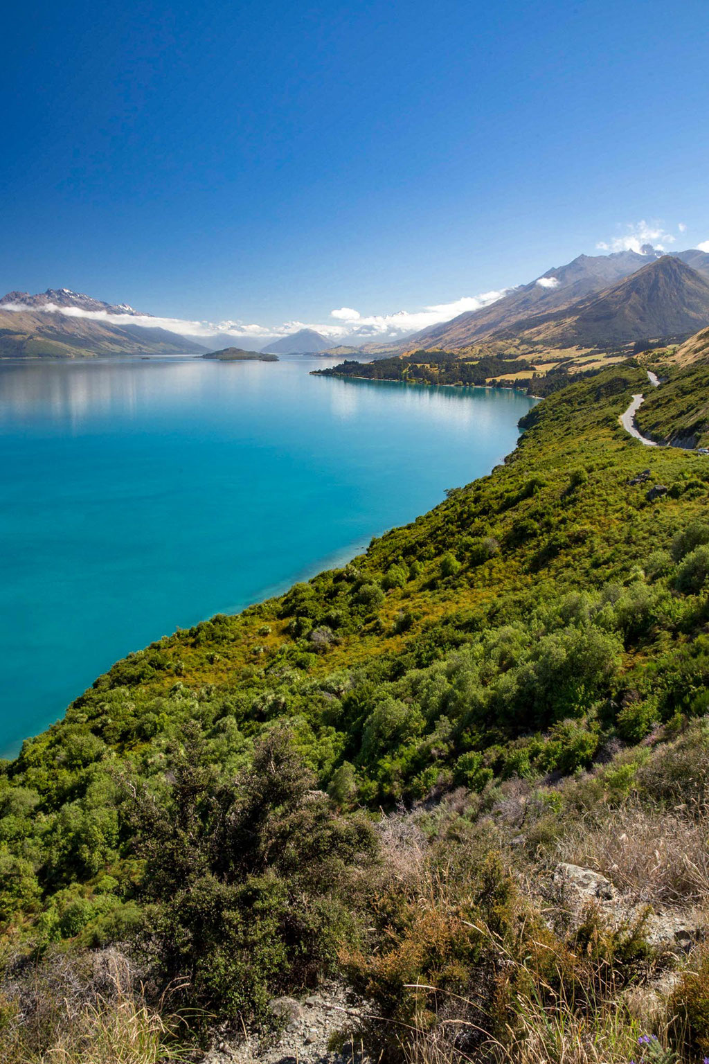 Bennet's Bluff Point on the way to Glenorchy
