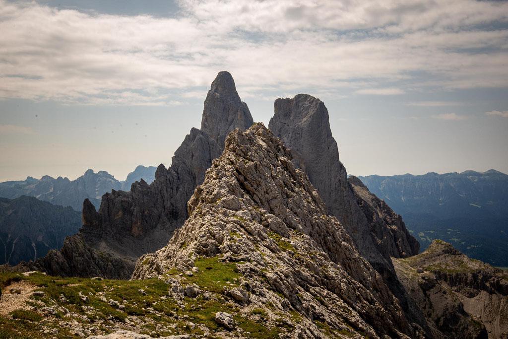 The views from Cima Di Val Roda