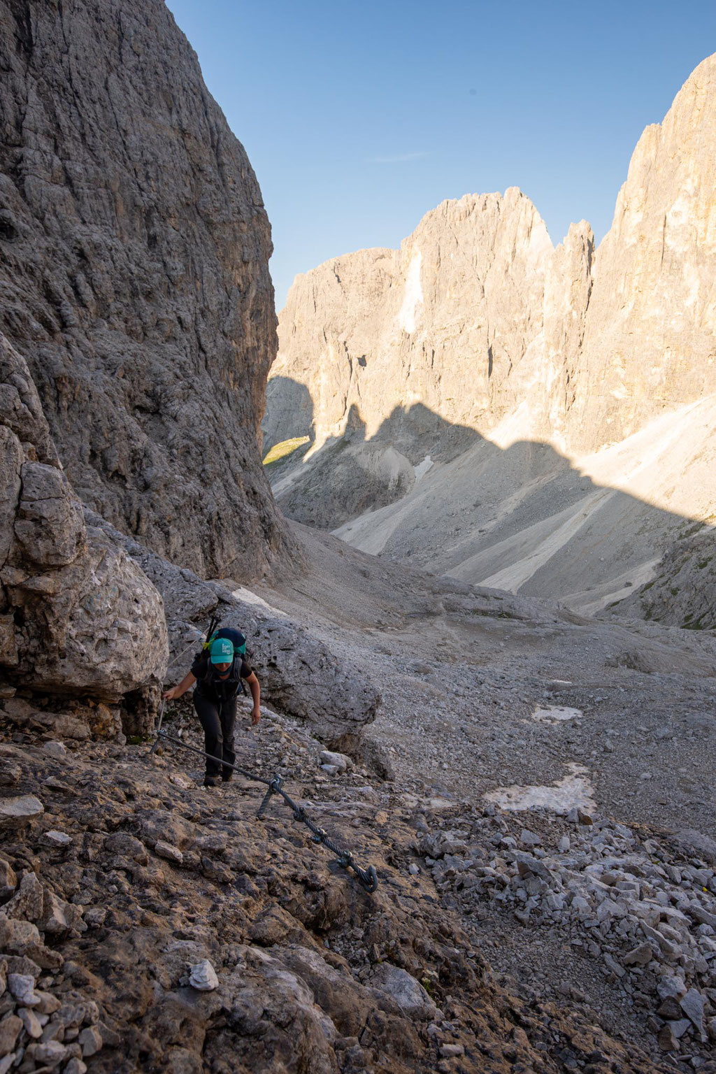 Day 4 of the traverse. Heading towards Passo delle Lede