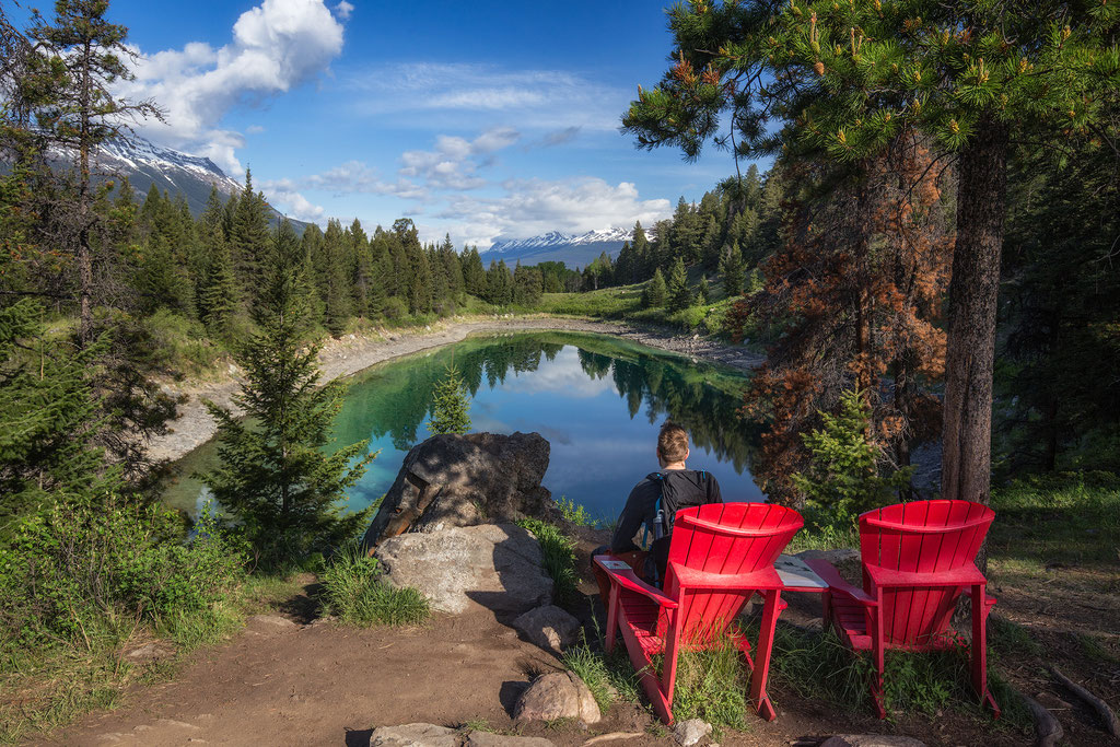 Valley Of the Five Lakes. Best hikes in Jasper National Park