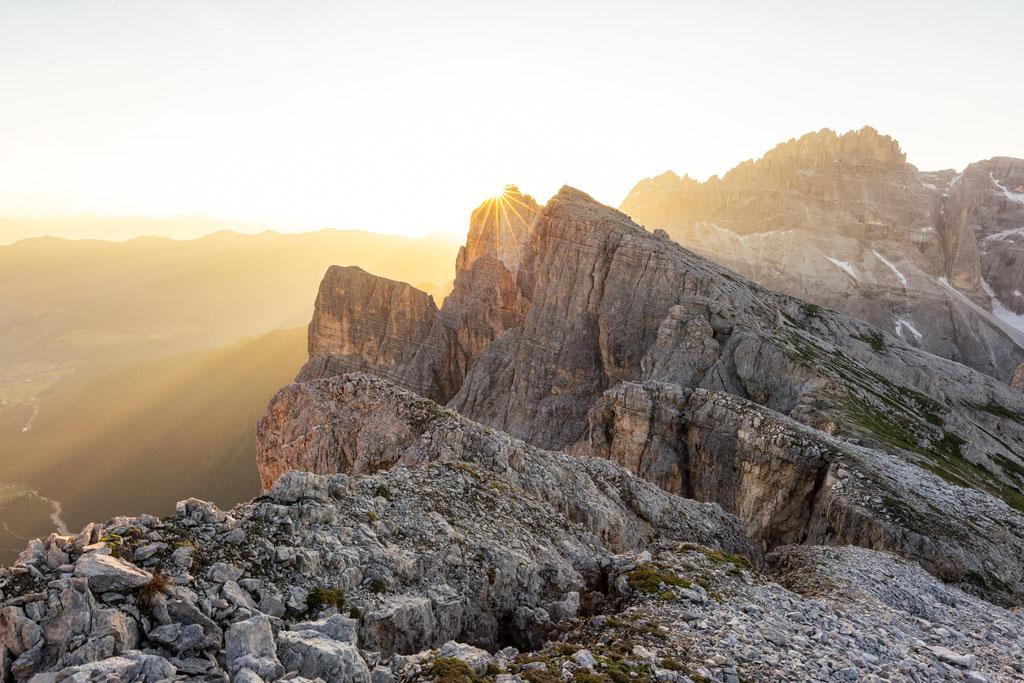 Sunrise from Mittl di Mezzo