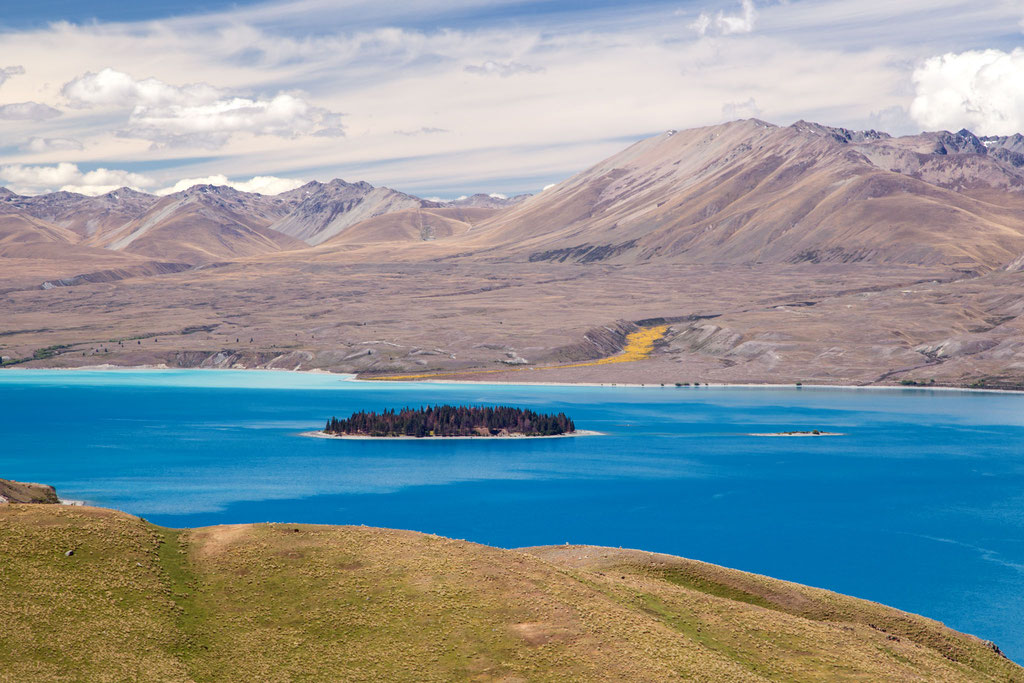 Lake Tekapo from Mount John