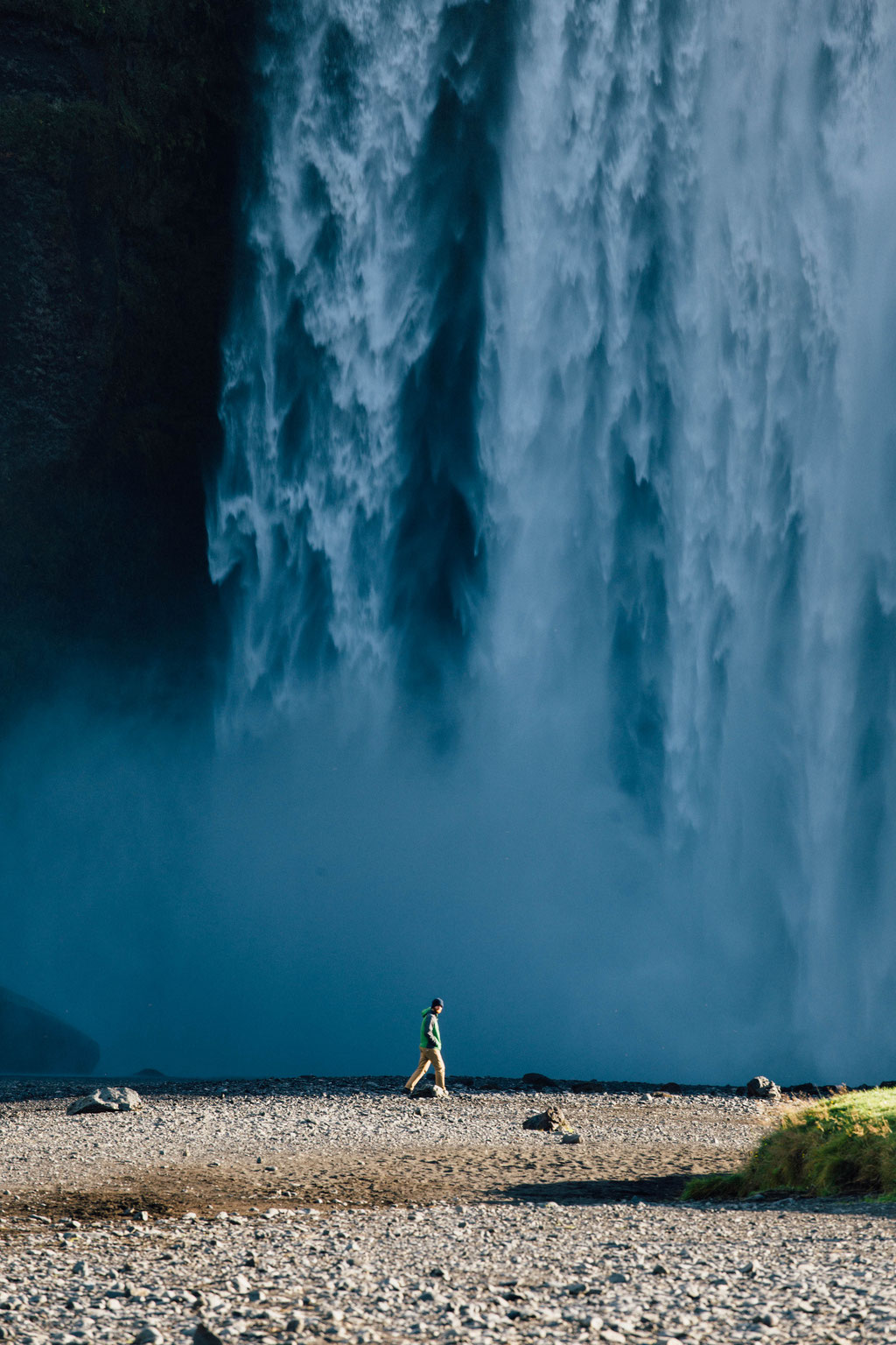 Skogafoss Waterfall. Road trip guide to Iceland