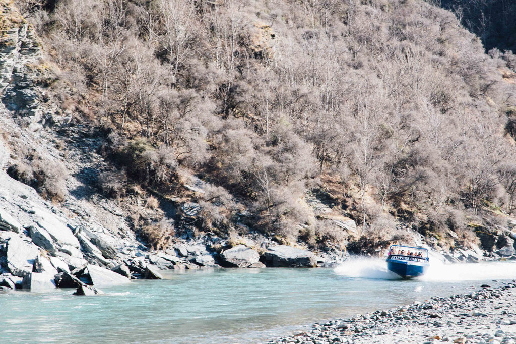 Skippers Canyon Jet Boating
