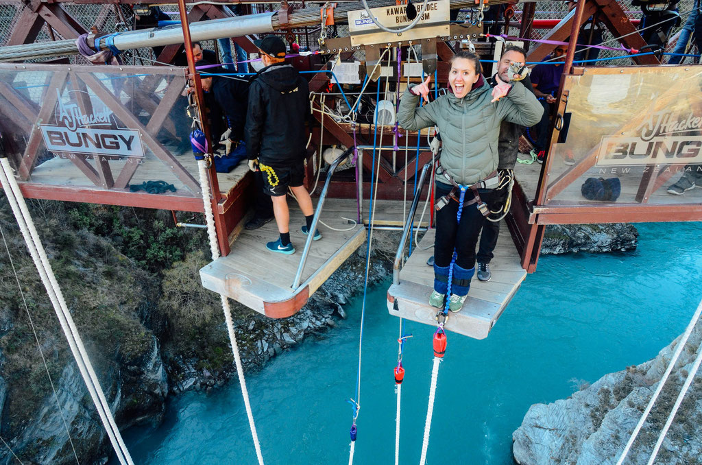 Kawarau Bridge Bungy, Queenstown