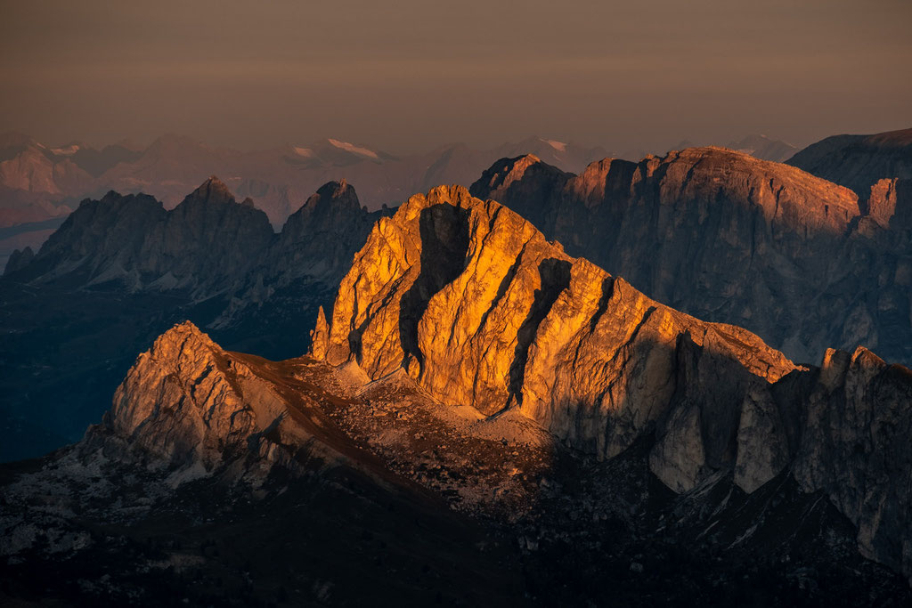 Col Di Lana at sunrise