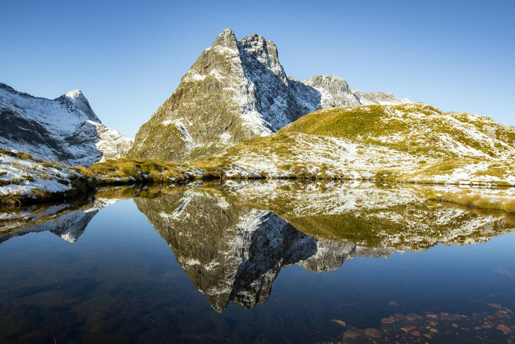 Reflections on the Mackinnon Pass
