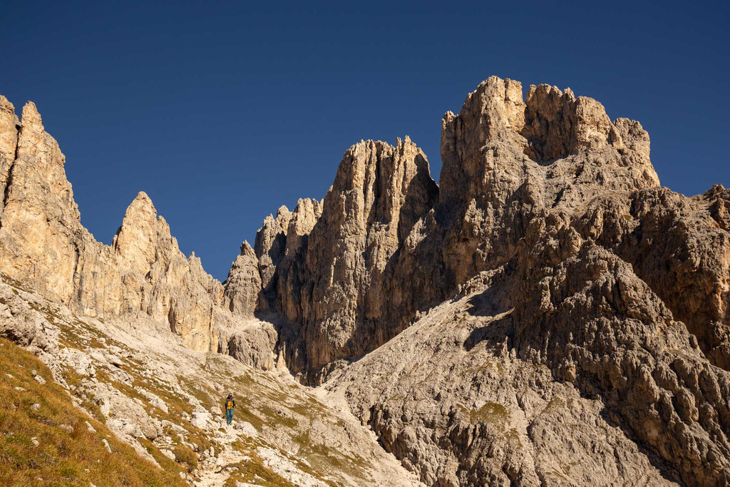 Day 2 of the traverse. The views over Val Delle Comelle