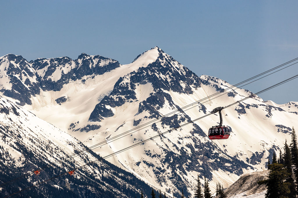 The impressive peak to peak Gondola in Whistler. Sea to Sky Highway guide