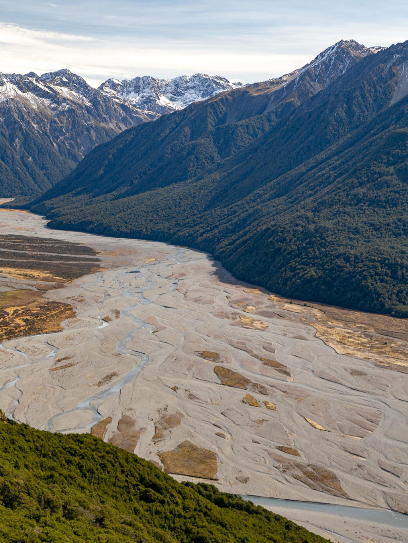Waimakariri river - Bealey Spur Track - Arthur's Pass NP