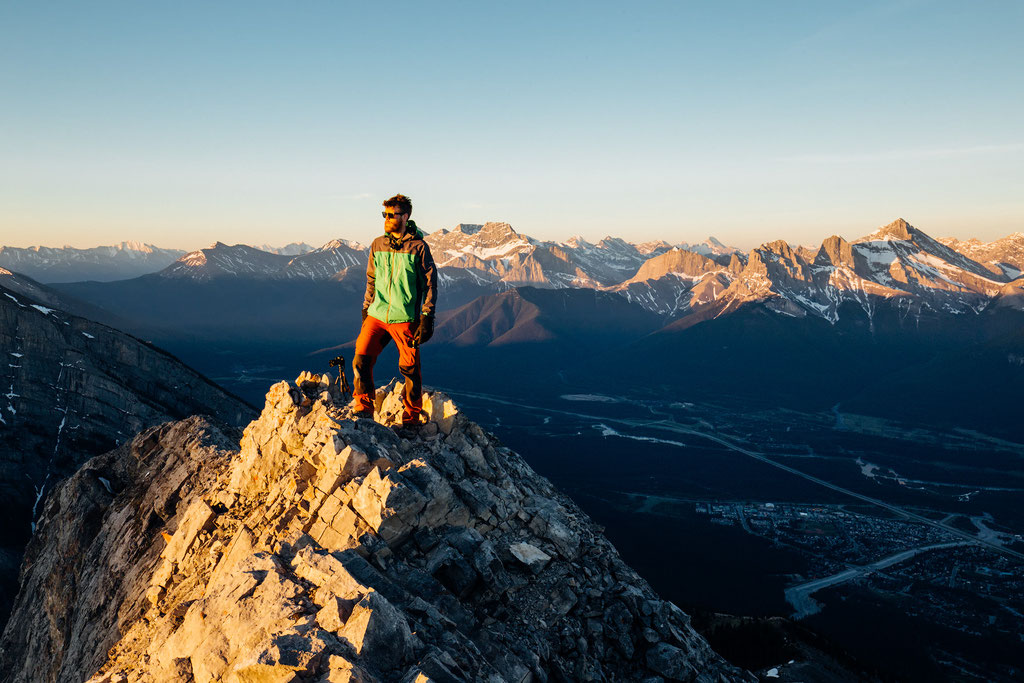 Sunrise on Mount Lady Macdonald. Best Hikes Near Canmore and Kananaskis