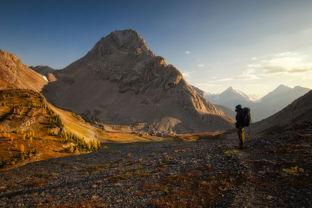 Hiking to Smutwood Peak in Kananaskis Country