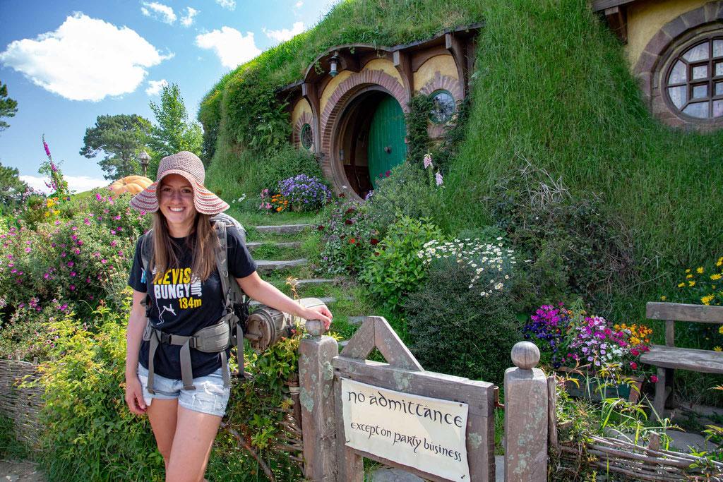 Me in Hobbiton