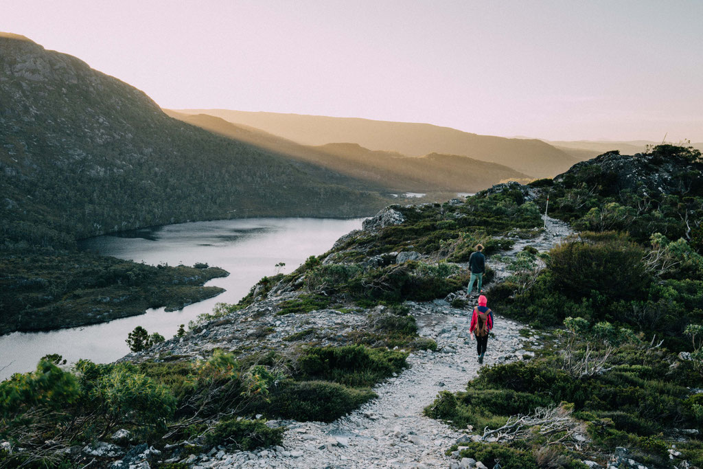 Hiking in Cradle Mountain National Park, Tasmania