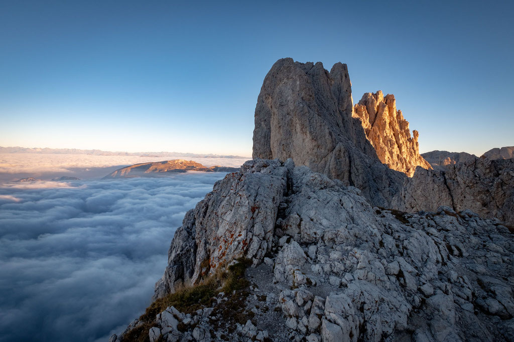 Cloud inversion on Passo Santner
