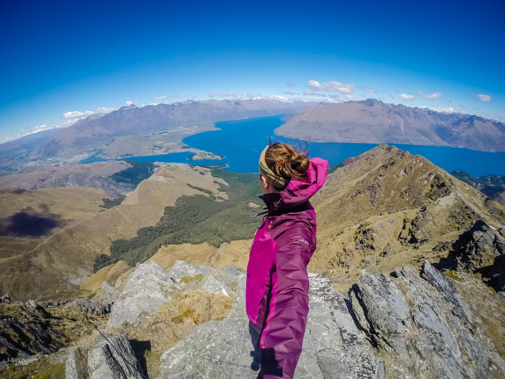 On the top of Ben Lomond in Queenstown