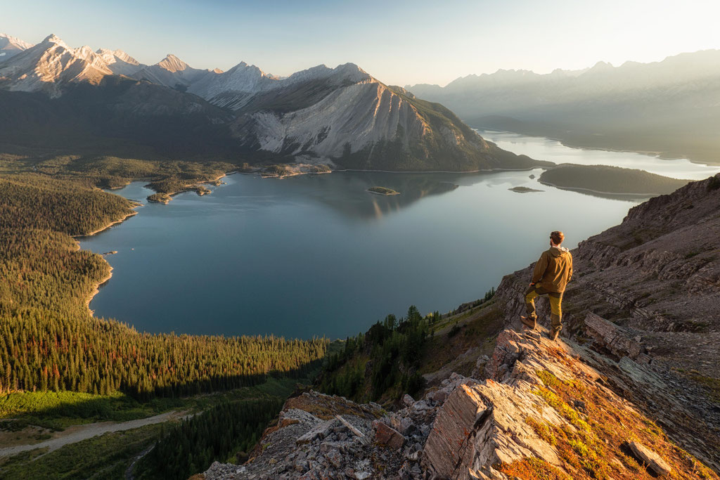 Sarrail Ridge and Upper Kananaskis Lake