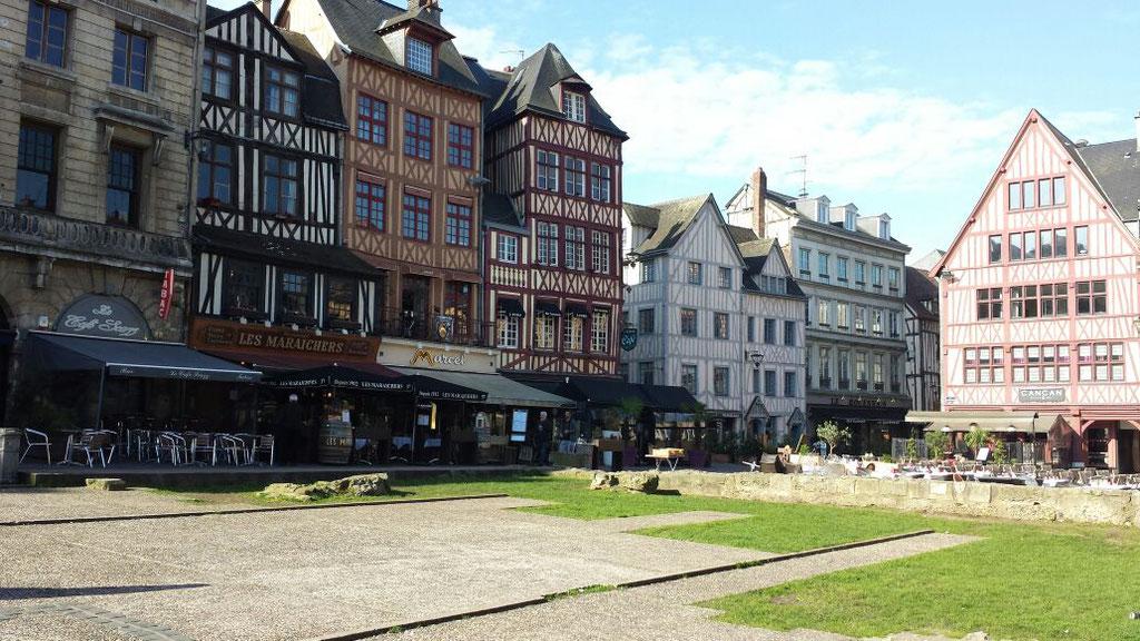 Ausflug nach Rouen.