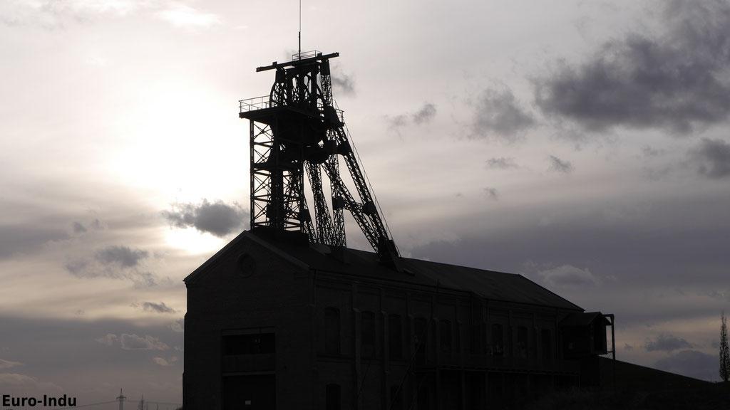 Einzig erhaltener Thompson-Bock Deutschlands über Schacht 2