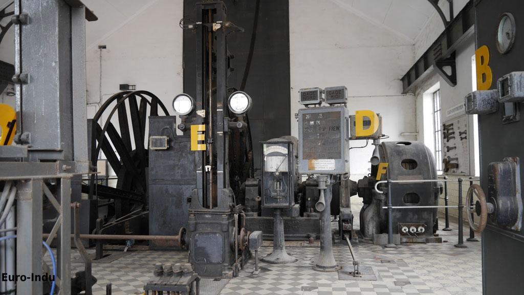 Fördermaschine Schacht 2