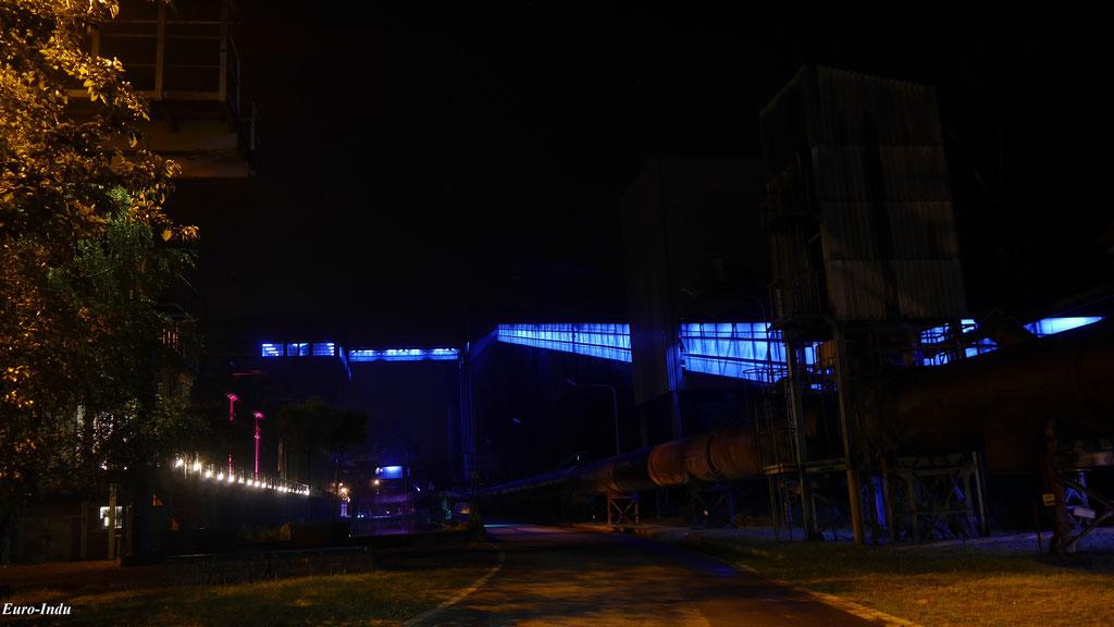 Bandbrücke vom Tiefbunker zur Mischanlage