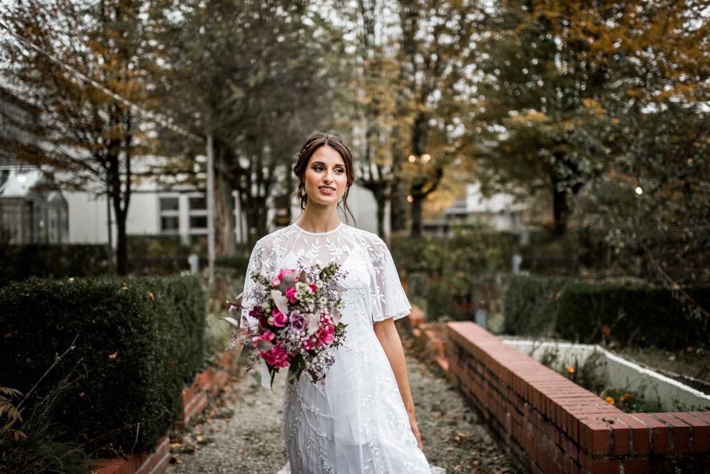 Boho Braut, Freising Hochzeitsfotos, Hochzeitsreportage, Hochzeitsbilder, Brautkleid Freising