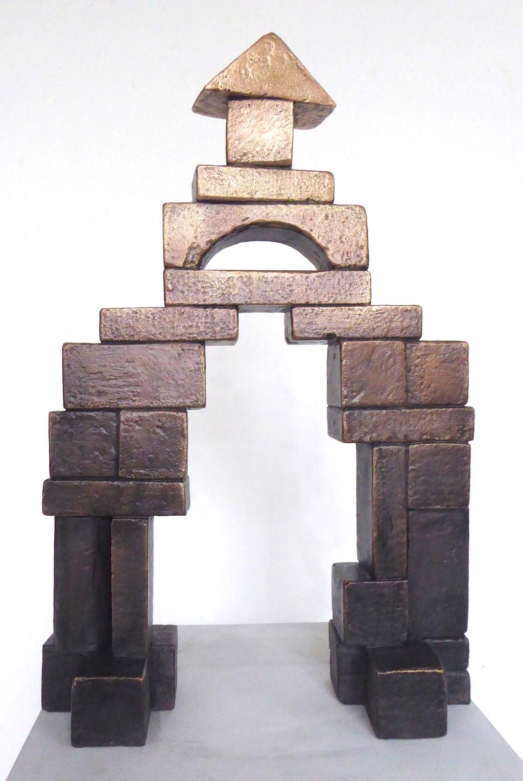 der Bau, ca. 50x32x10cm, Bronze 1/3, 2018