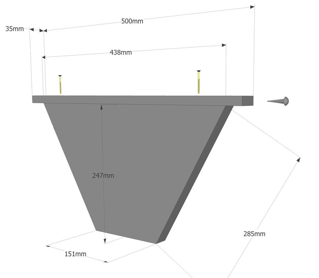 Ruche horizontale: la partition