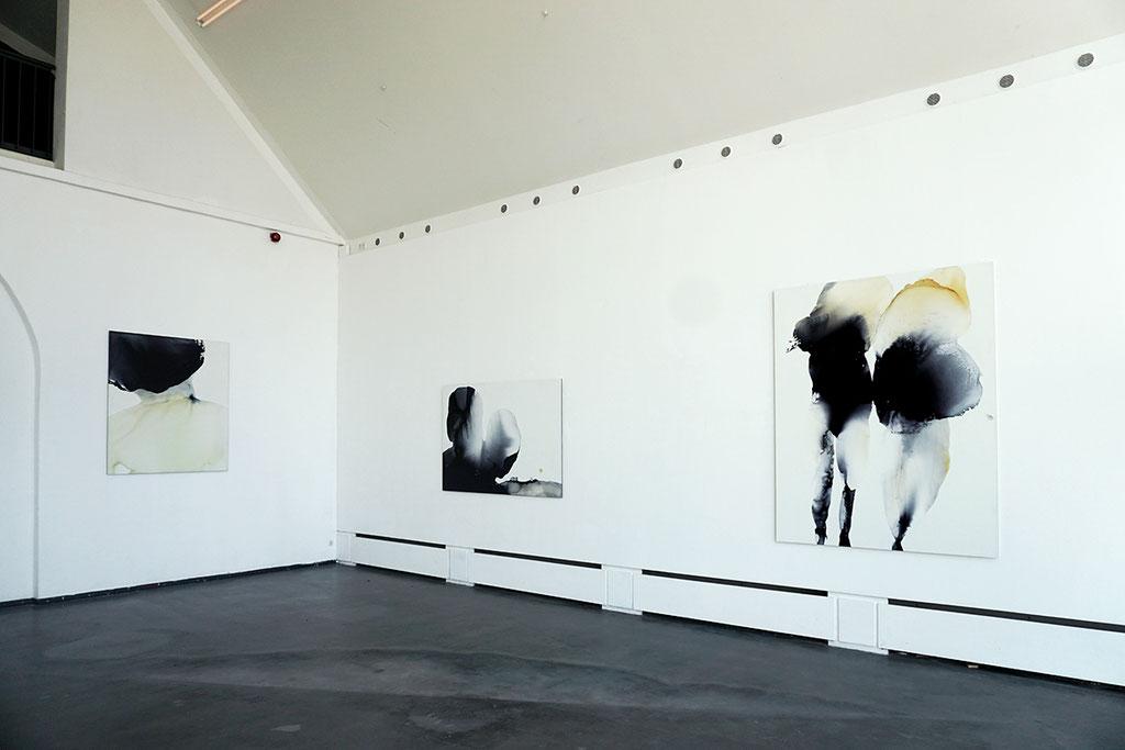 Blick in den Ausstellungshalle - Kunstraum 2017