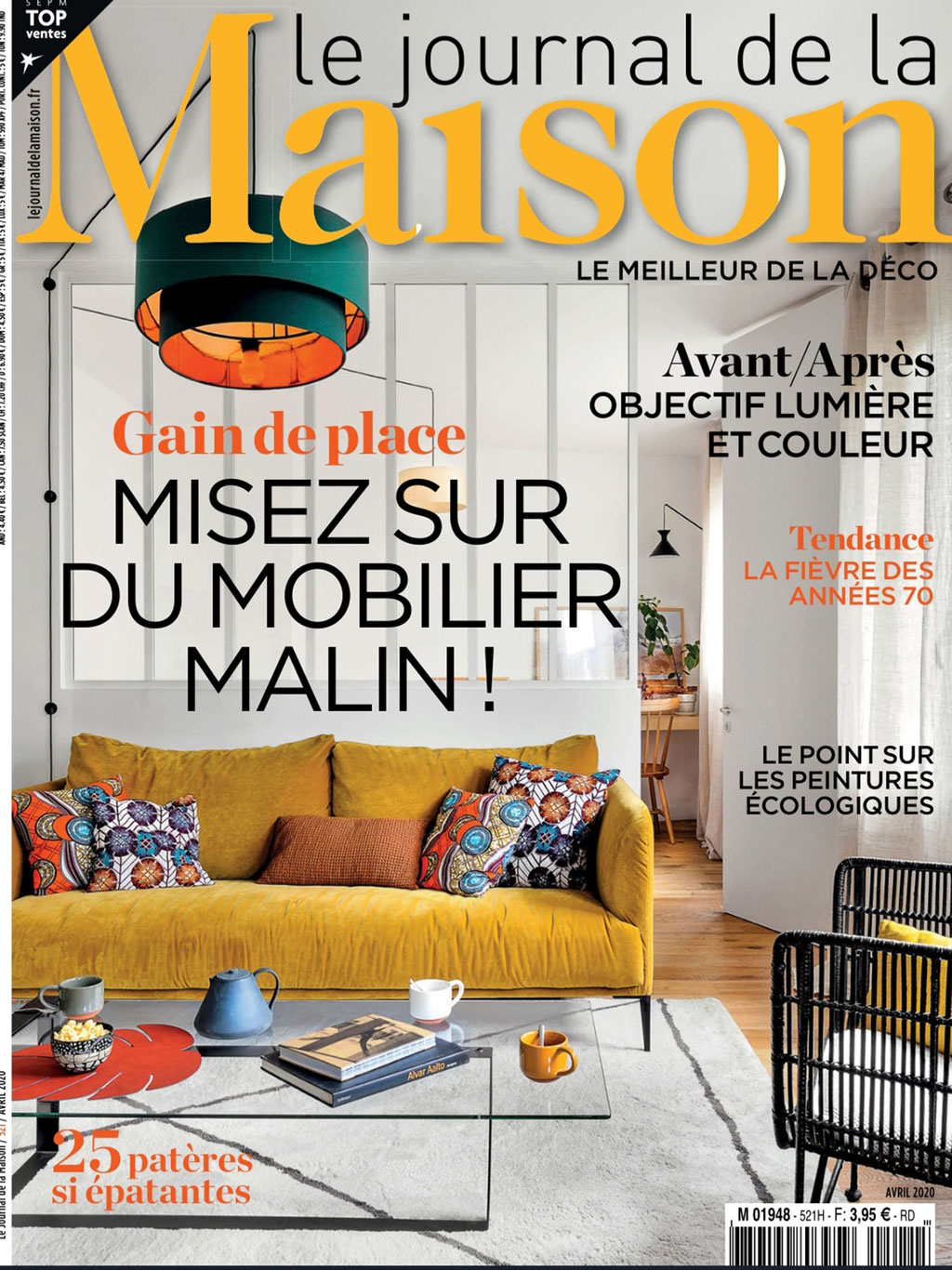 JOURNAL DE LA MAISOn < TABLE FLO < MAI 2020