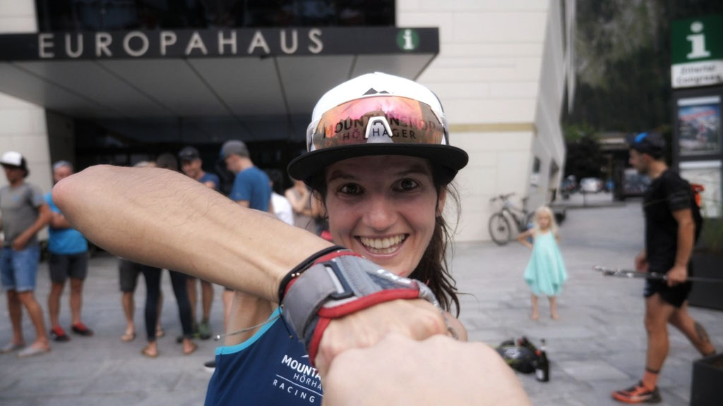 Stephanie Kröll Rekordzeit geknackt - Foto: Racingteam Mountainshop Hörhager
