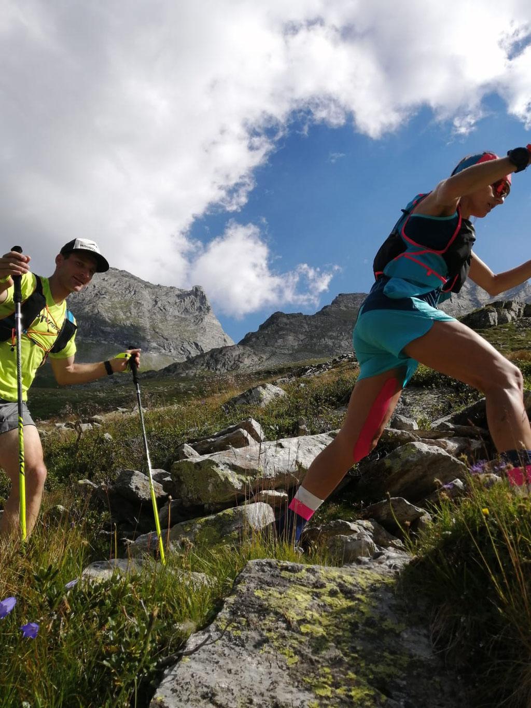 Stephanie Kröll mit Teampartner - Foto: Racingteam Mountainshop Hörhager