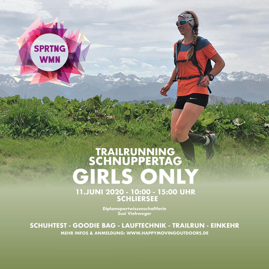 TRAILRUNNING SCHNUPPERTAG - GIRLS ONLY