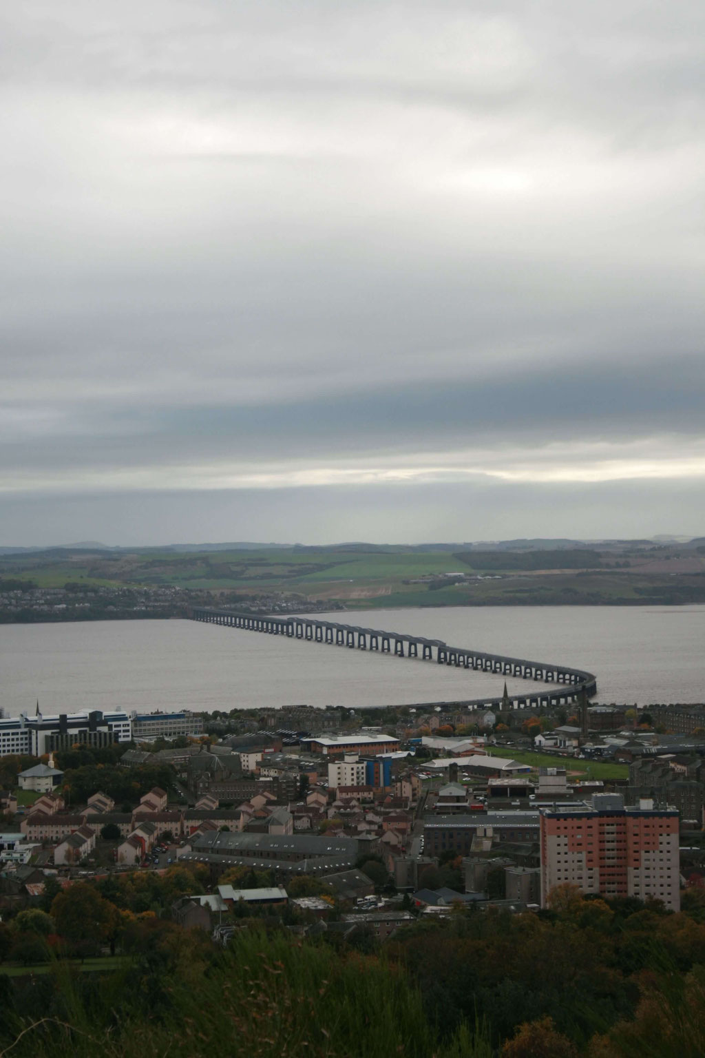 View from Dundee Law Viewpoint