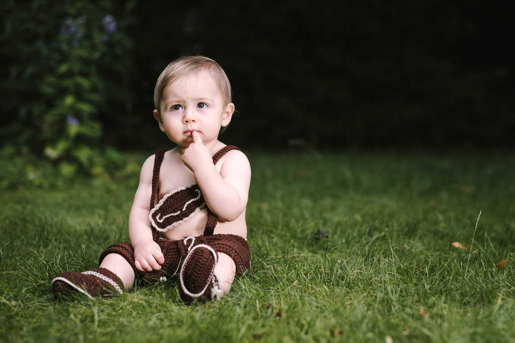 Outdoor Baby-Shooting. Fotostudio Roman Pfeiffer