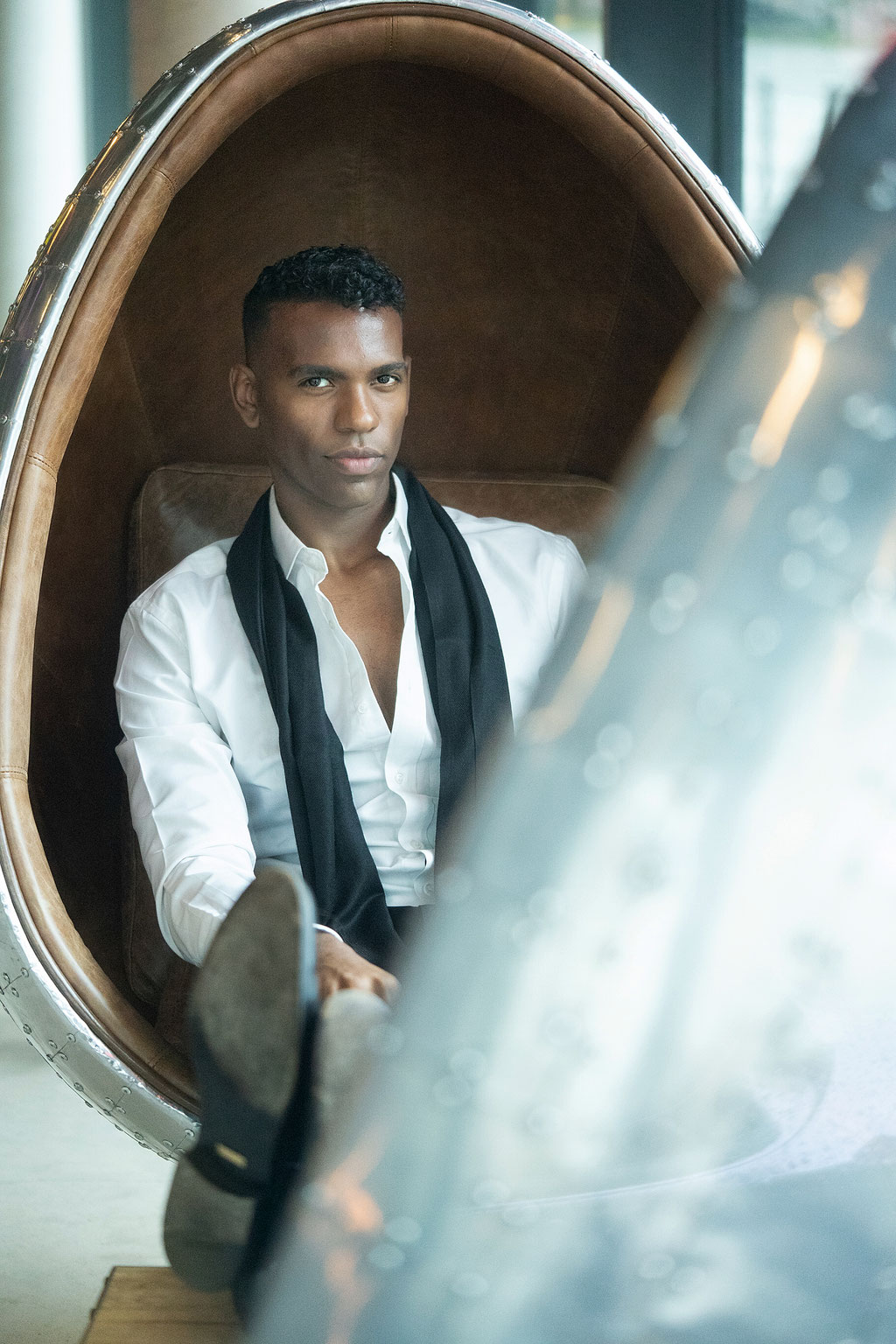 Ray Yusuf - Unternehmer & Fashion Model - Frankfurt am Main - Photo by Melina Johannsen