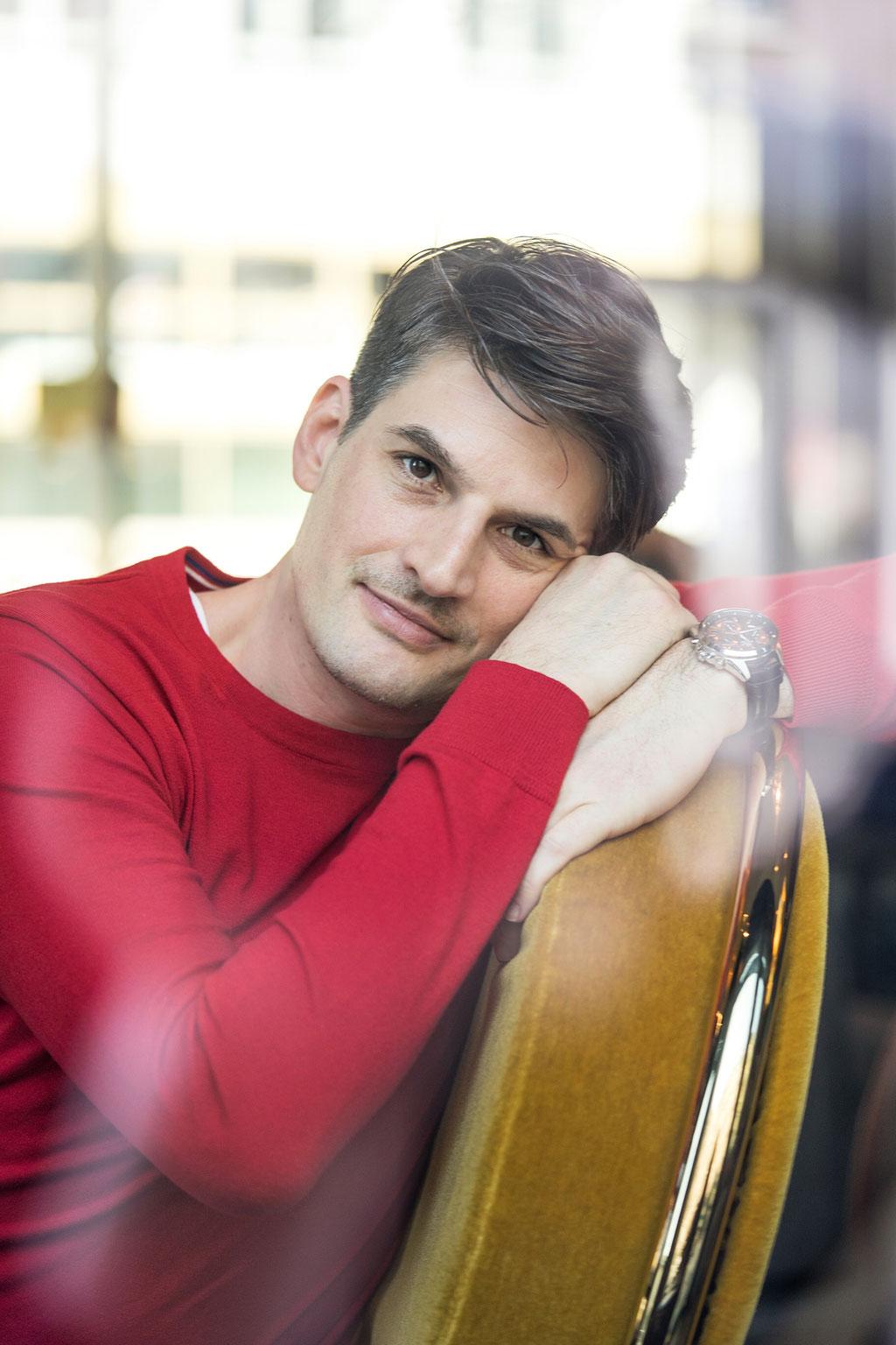 Christoph Gerard Stein - Schauspieler - Künstlerportrait - Frankfurt am Main - Photo by Melina Johannsen