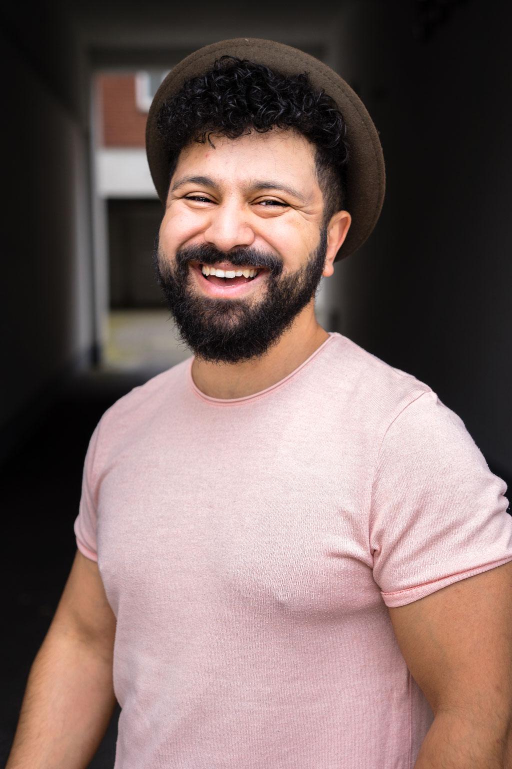 Arman Kashmiri - Schauspieler - Künstlerportrait - Hamburg - Photo by Melina Johannsen
