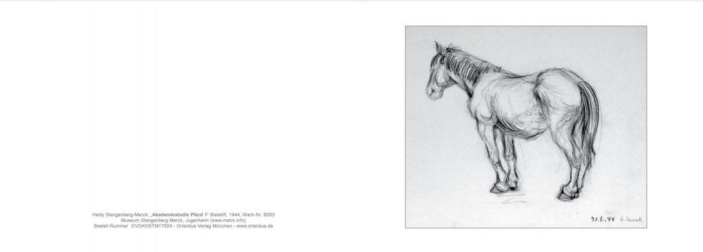 7004 Akademiestudie Pferd I