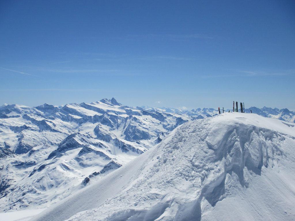 """Am Gipfel des """"Großvenediger"""", Hohe Tauern"""