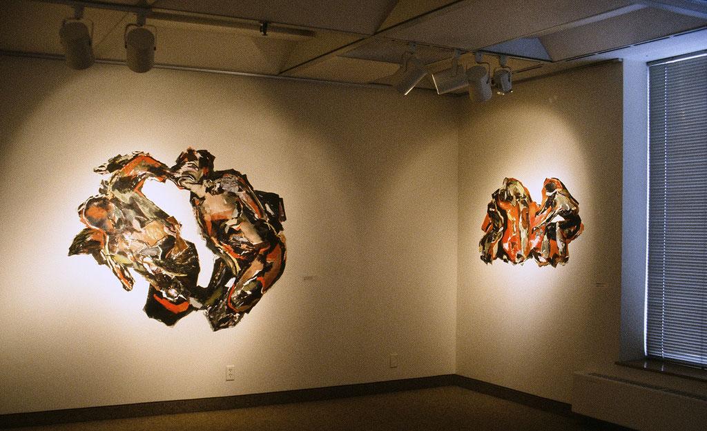 Vue d'exposition Maison de la culture Marie Uguay, 1994