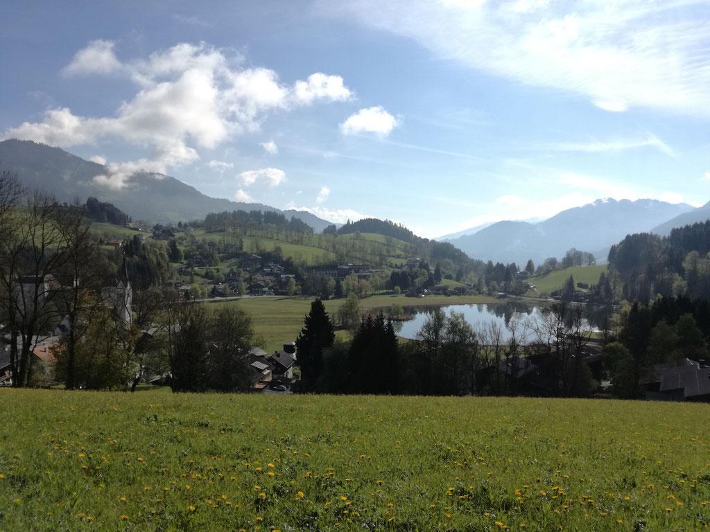 Böndlsee; Goldegg im Pongau; Sommer im Salzburger Land;