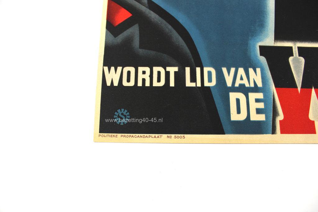 NSB WA propaganda affiche